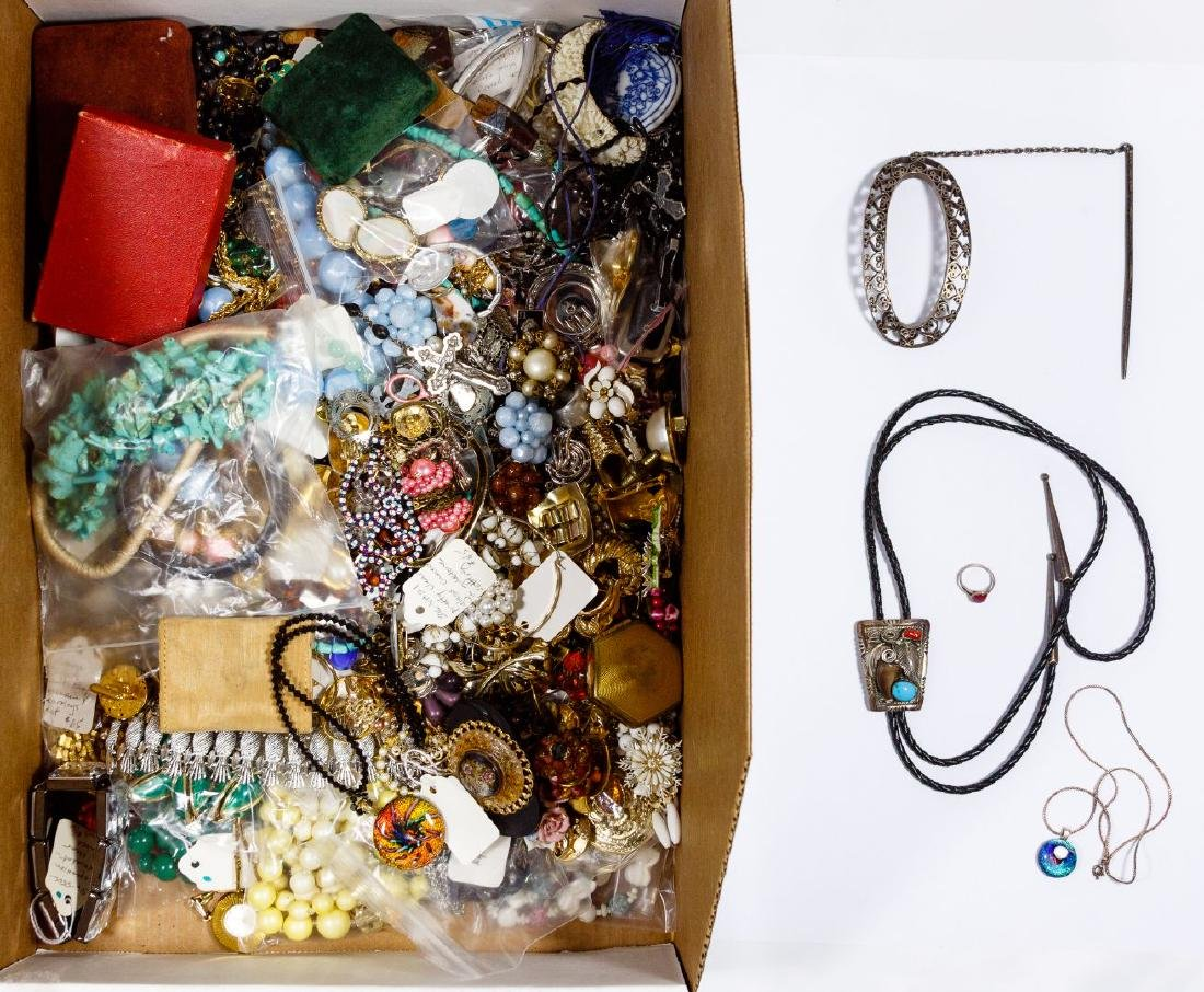Silver and Costume Jewelry Assortment