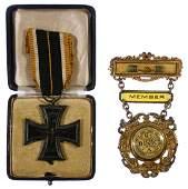 Replica World War I German 1st Class Iron Cross