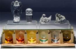 Crystal Figurines and Moser Glass Assortment