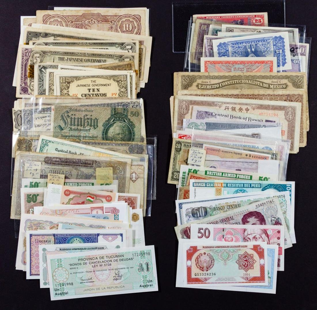 World: Currency and Military Payment Assortment