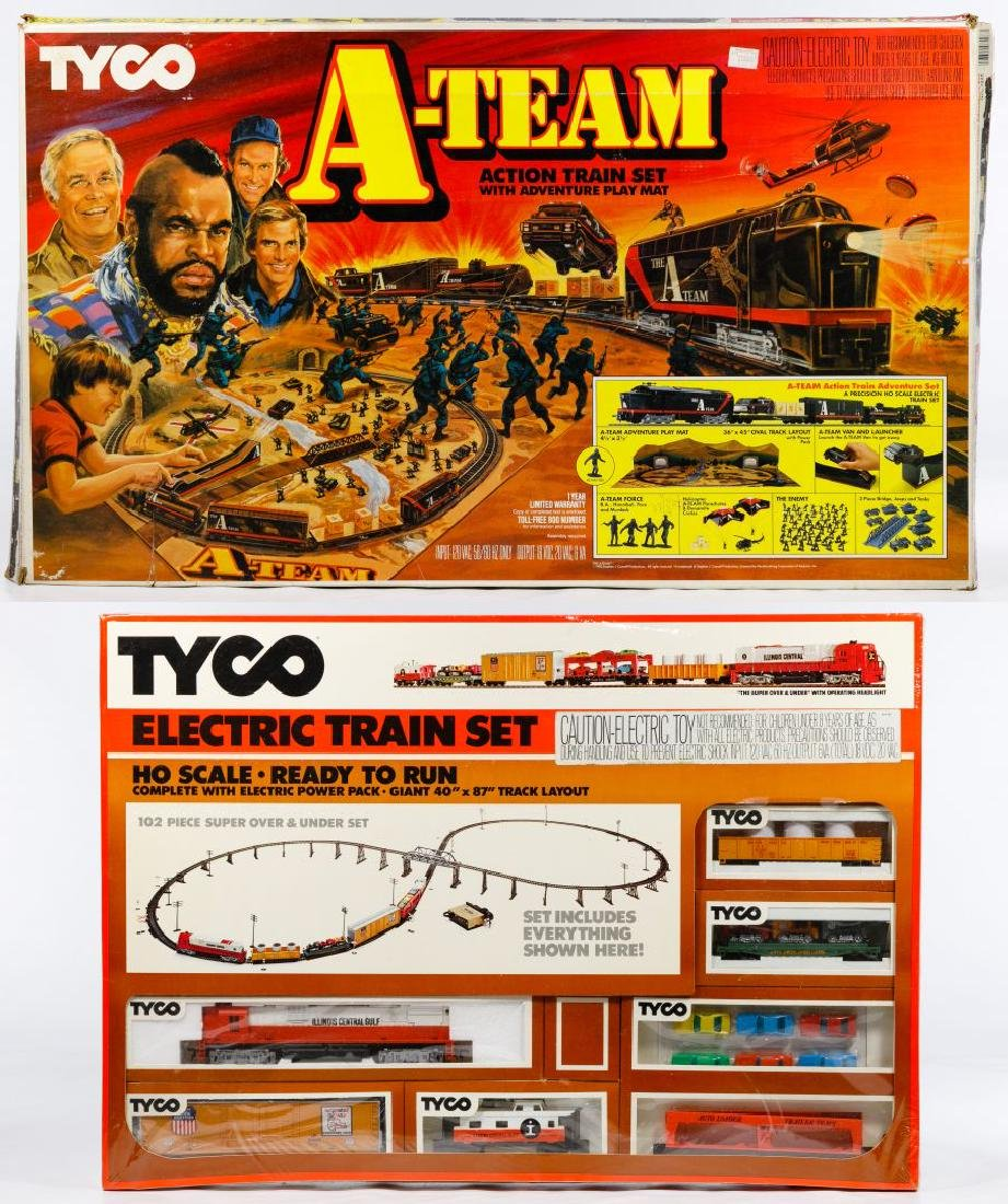 Tyco HO Model Train Sets