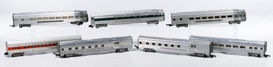 American Flyer Aluminum Passenger Model Train