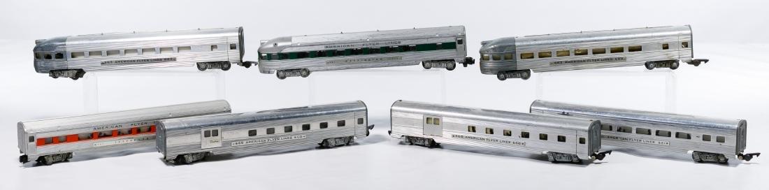 American Flyer Aluminum Passenger Model Train - 2