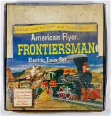 American Flyer Frontiersman Model Train Set