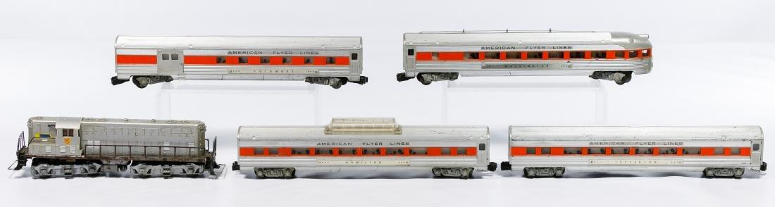 American Flyer Passenger Car Model Train Set