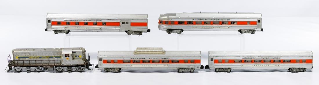 American Flyer Passenger Car Model Train Set - 2