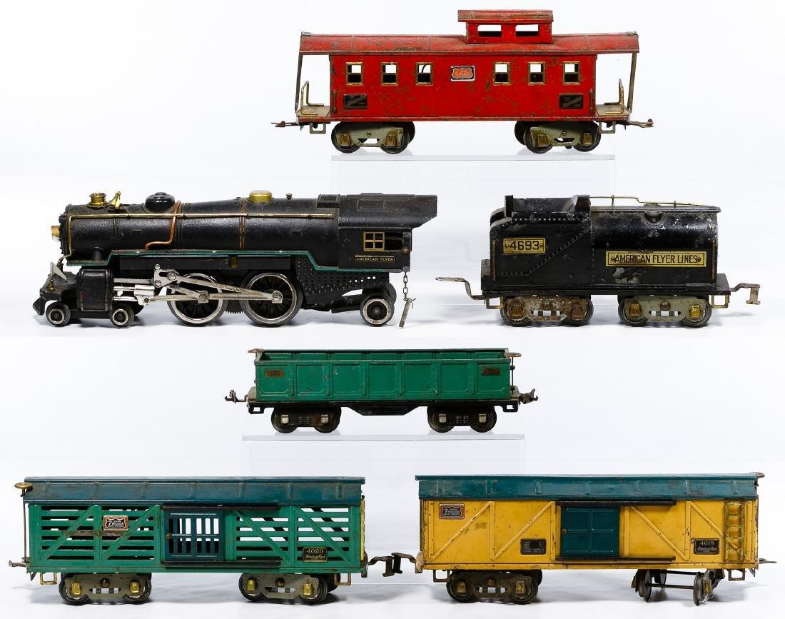 American Flyer Standard Gauge Model Train Set