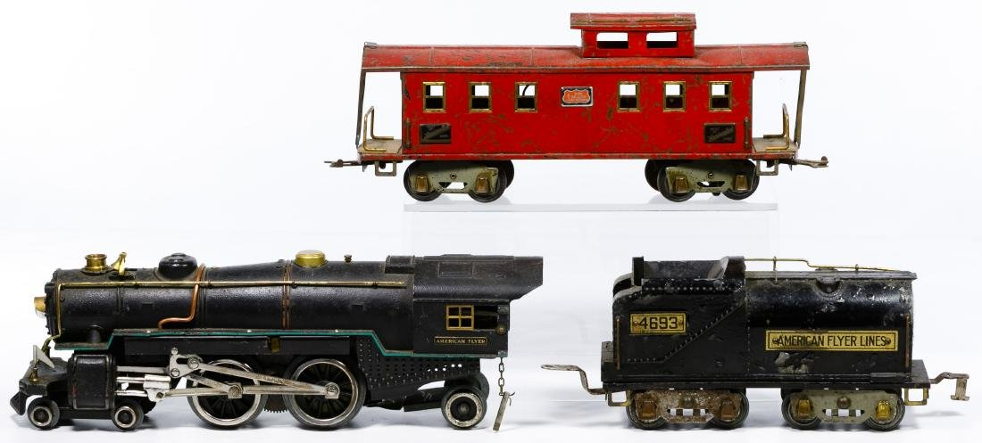 American Flyer Standard Gauge Model Train Set - 4