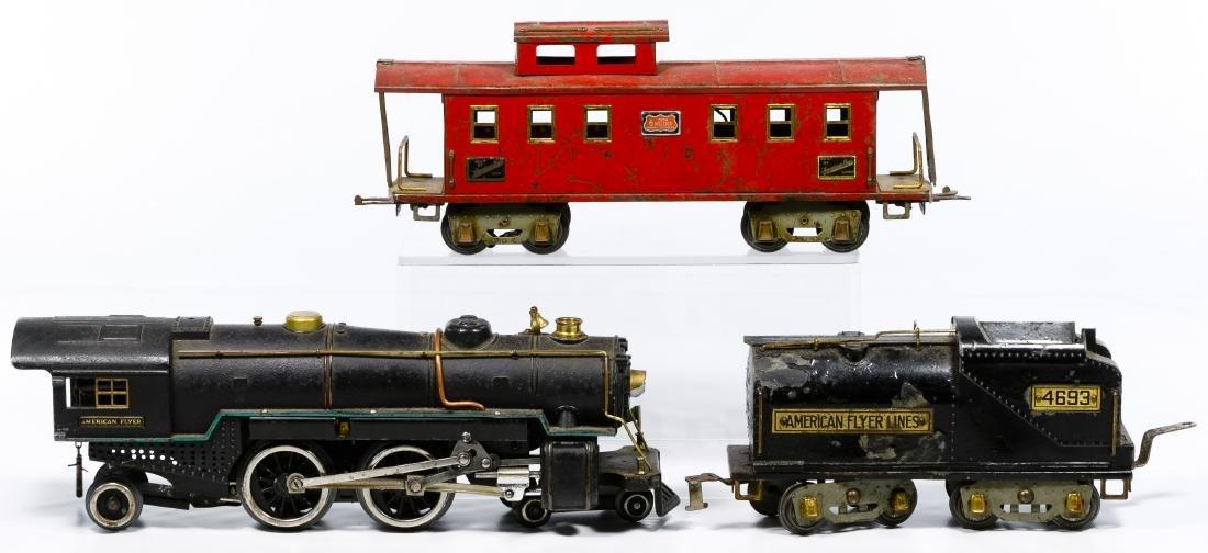 American Flyer Standard Gauge Model Train Set - 5