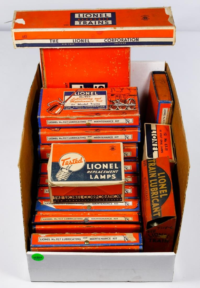 Lionel Boxed Model Train Assortment