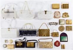 Evening Bag, Purse and Compact Assortment
