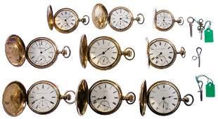 Gold Filled Pocket Watch Assortment