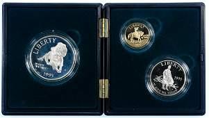 1995 Gold Civil War Battlefield Coin Set