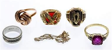 10k Gold Jewelry Assortment