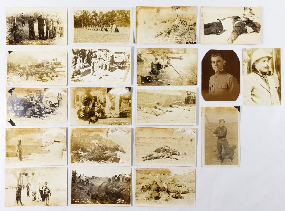 Military, Postcard and Photograph Ephemera Assortment