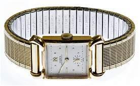 Doxa 14k Gold Case Wrist Watch