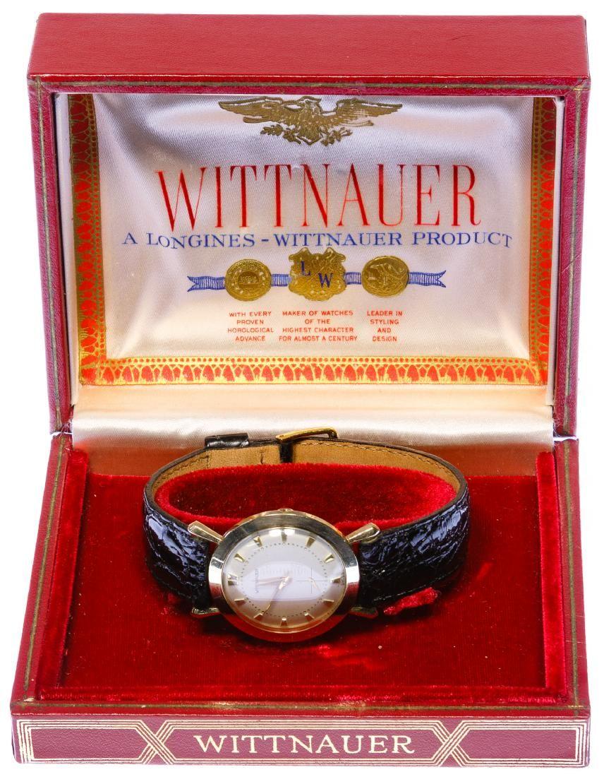 Wittnauer 14k Gold Case Wrist Watch
