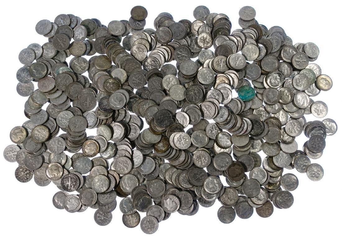 Roosevelt Silver 10c Assortment