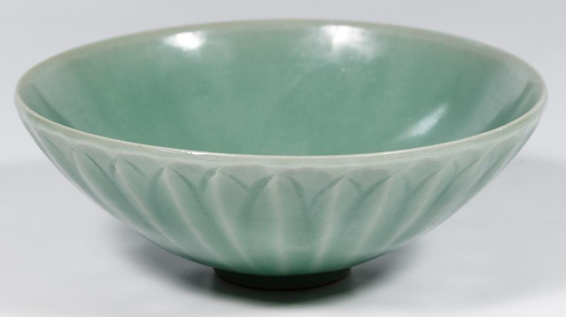 Chinese Long Quan Kiln Celadon Lotus Bowl