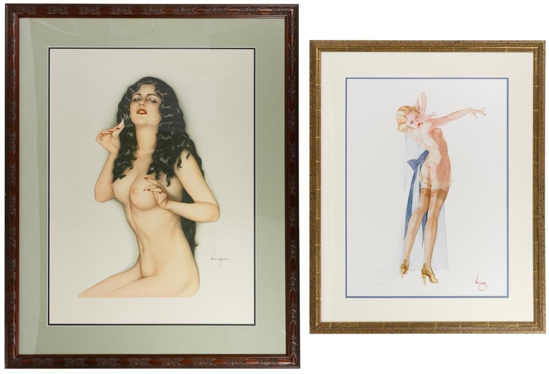 Alberto Vargas (American, 1896-1982) Lithographs