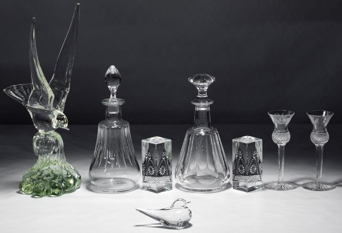 Crystal and Art Glass Assortment