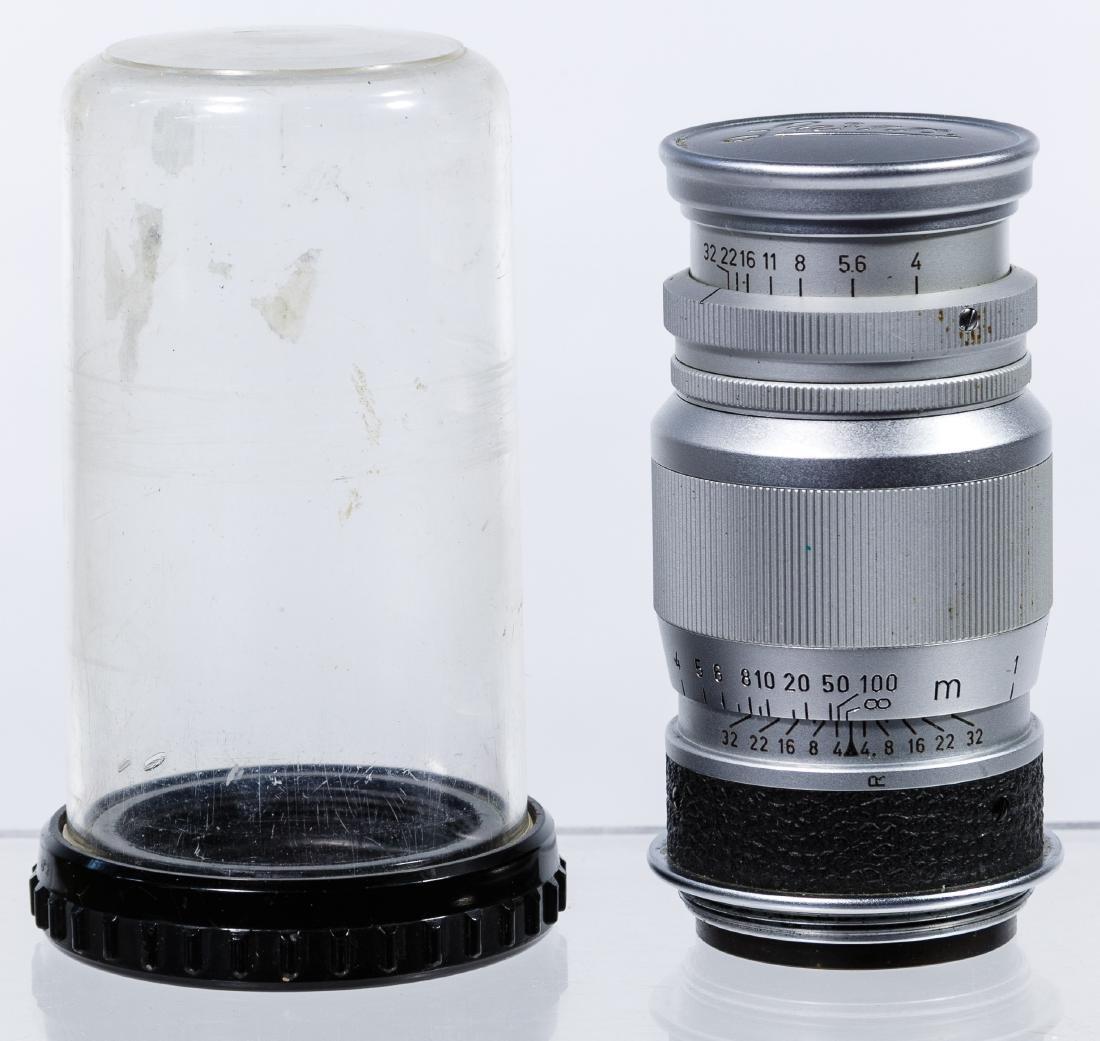 Ernst Leitz Wetzlar Elmar 9cm Lens