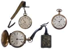 Illinois 14k Gold Hunting Case Pocket Watch
