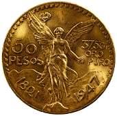 Mexico: 1947 50 Peso Gold