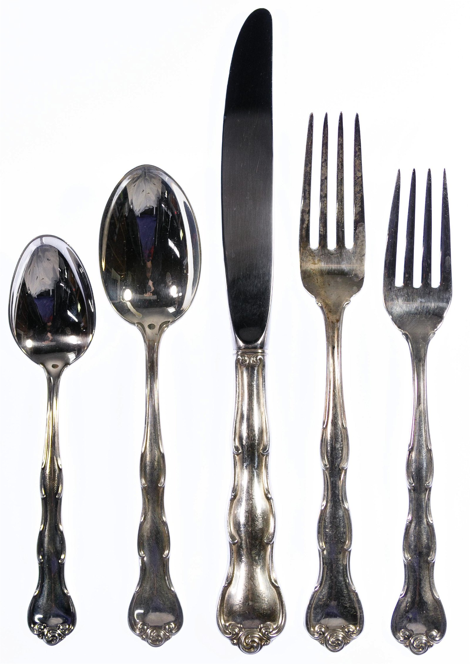 Gorham 'Rondo' Sterling Silver Flatware Service