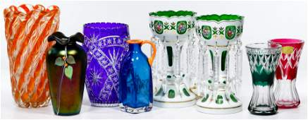 Cut to Clear and Art Glass Assortment