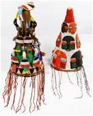 African Beaded Headdresses