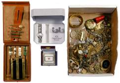 Sterling Silver and 14k Gold Trim Jewelry Assortment