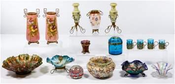 Victorian Glass Assortment