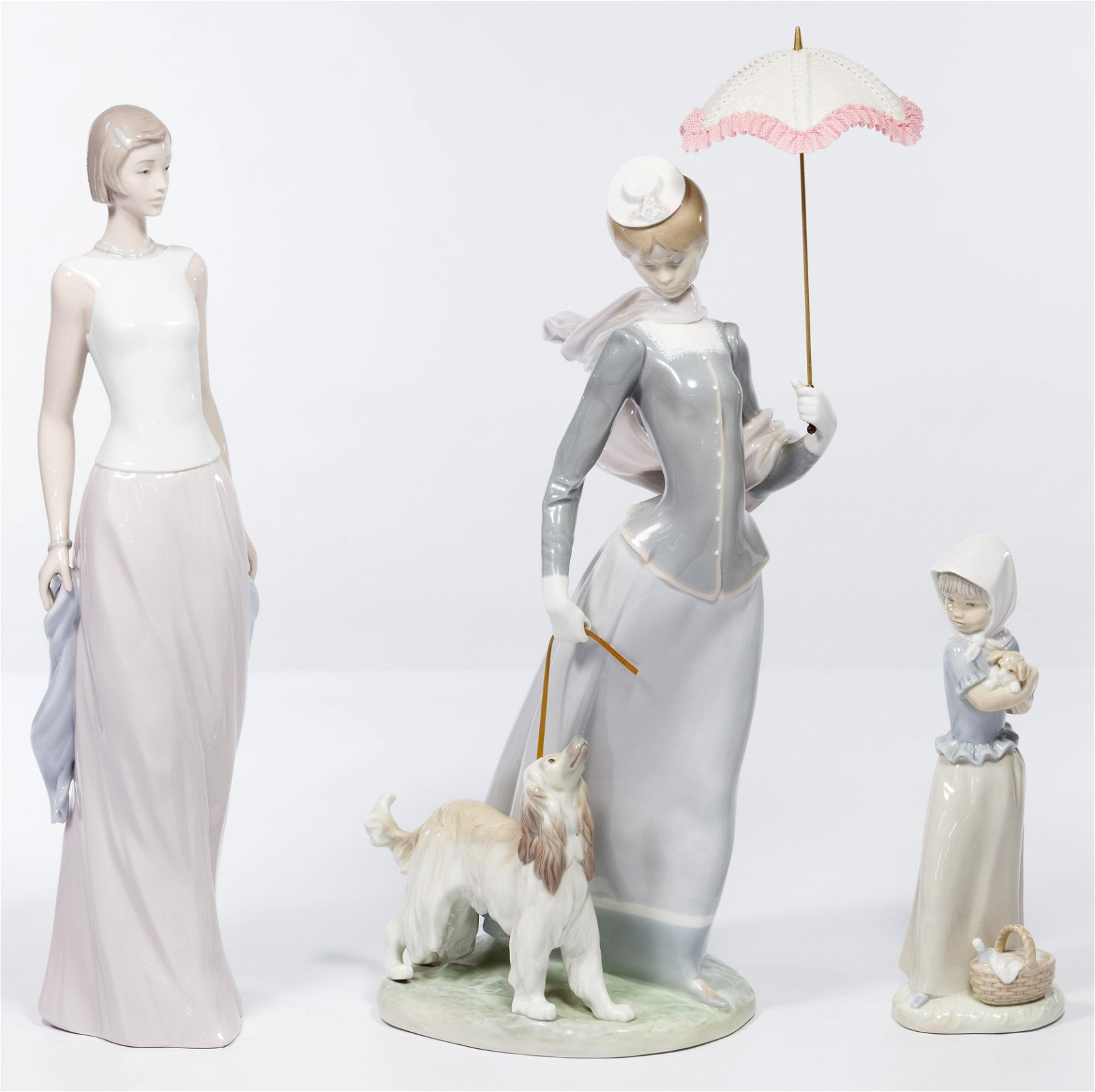 Lladro and Nao by Lladro Figurine Assortment