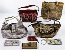 Coach Handbag and Wallet Assortment