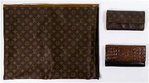 Designer Wallet and Portfolio Assortment