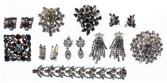 Weiss Rhinestone Jewelry Assortment