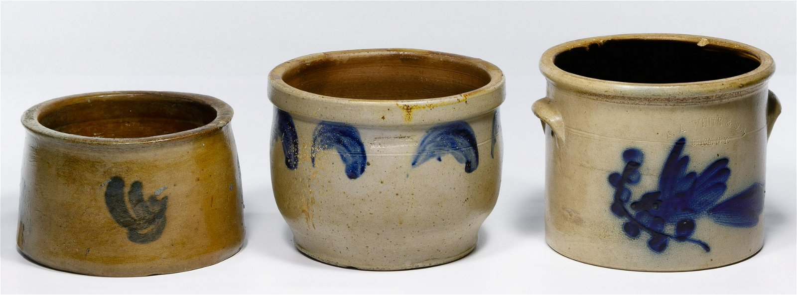 Cobalt Blue Stoneware Assortment