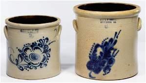 E. & L. P. Norton and J. Norton & Co. Stoneware Crocks
