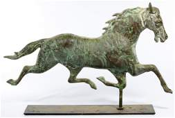 Folk Art Horse Form Weathervane Topper