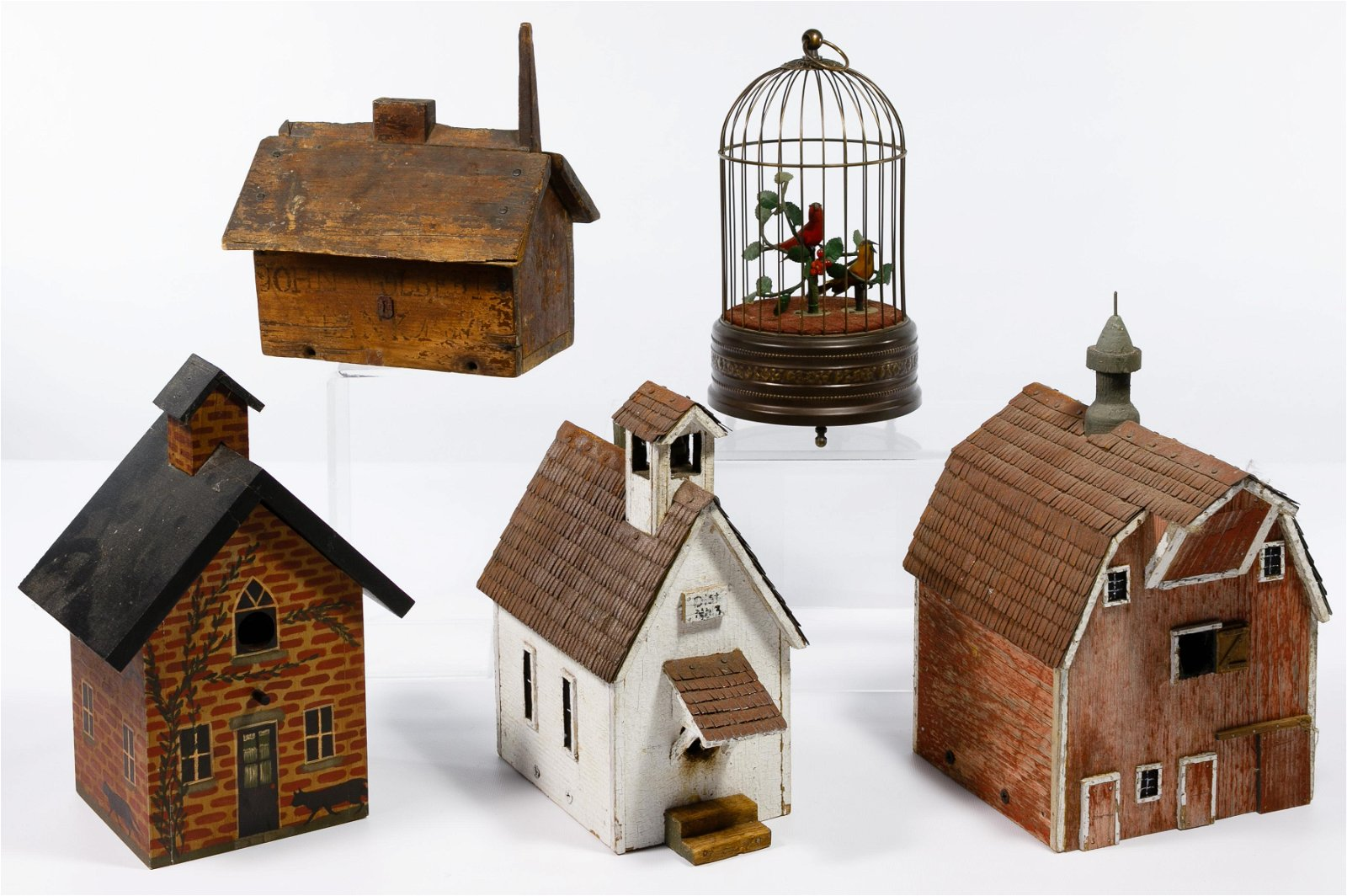 Wood Birdhouse Assortment