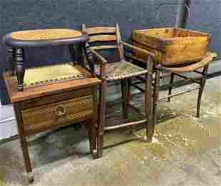 Wood Seating Assortment