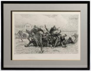 Henri Farre American French 18711934 Etching
