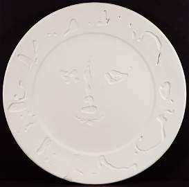 Pablo Picasso (Spanish, 1881-1973) Face Plate