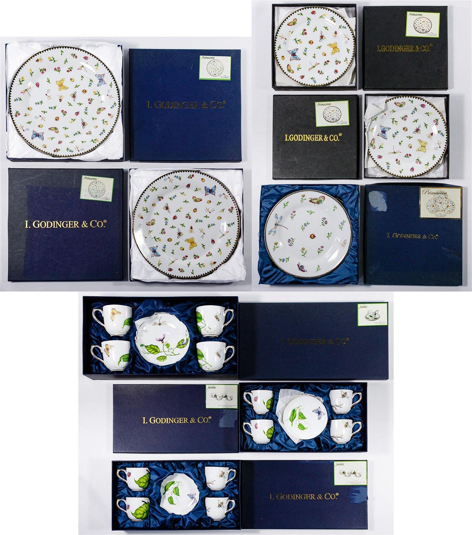 I. Godinger & Co. 'Jardin' Porcelain China