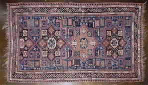 Tribal Flatweave Wool Rug