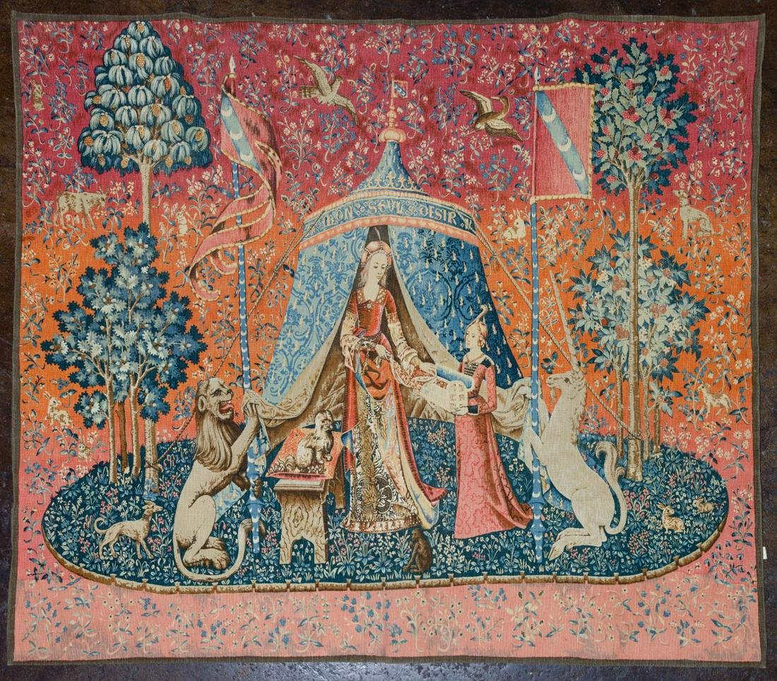 Tapestry 'The Lady and the Unicorn'