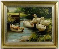 Unknown Artist (American, 20th Century) Oil on Board