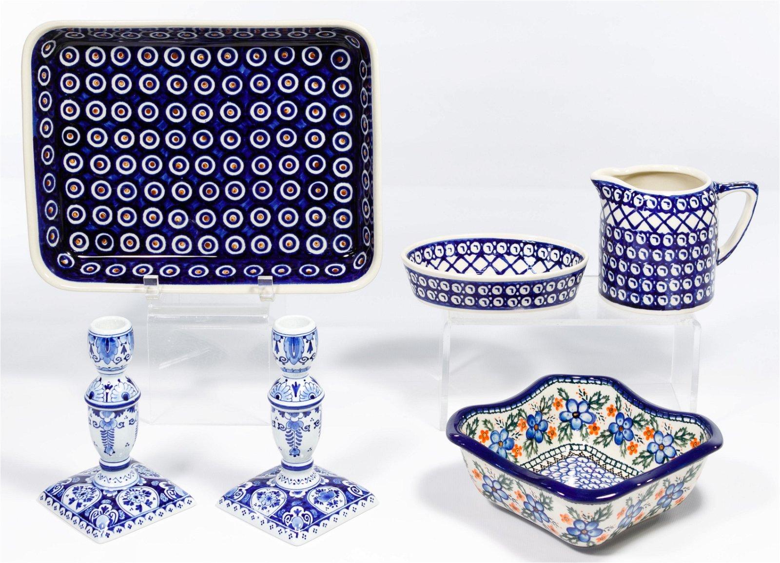 Polish Ceramics Assortment