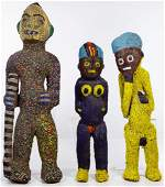 African Beaded Figure Sculptures